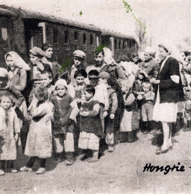 Refugee children from the Greek Civil War (1946-1949) in Hungary. Almost 40.000 children (Aegean or Slavo-Macedonians and Greek Macedonians) were evacuated out of the war zone by the communist army.
